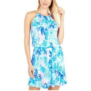 NWT Lilly Pulitzer Bowen Skort Romper size Small